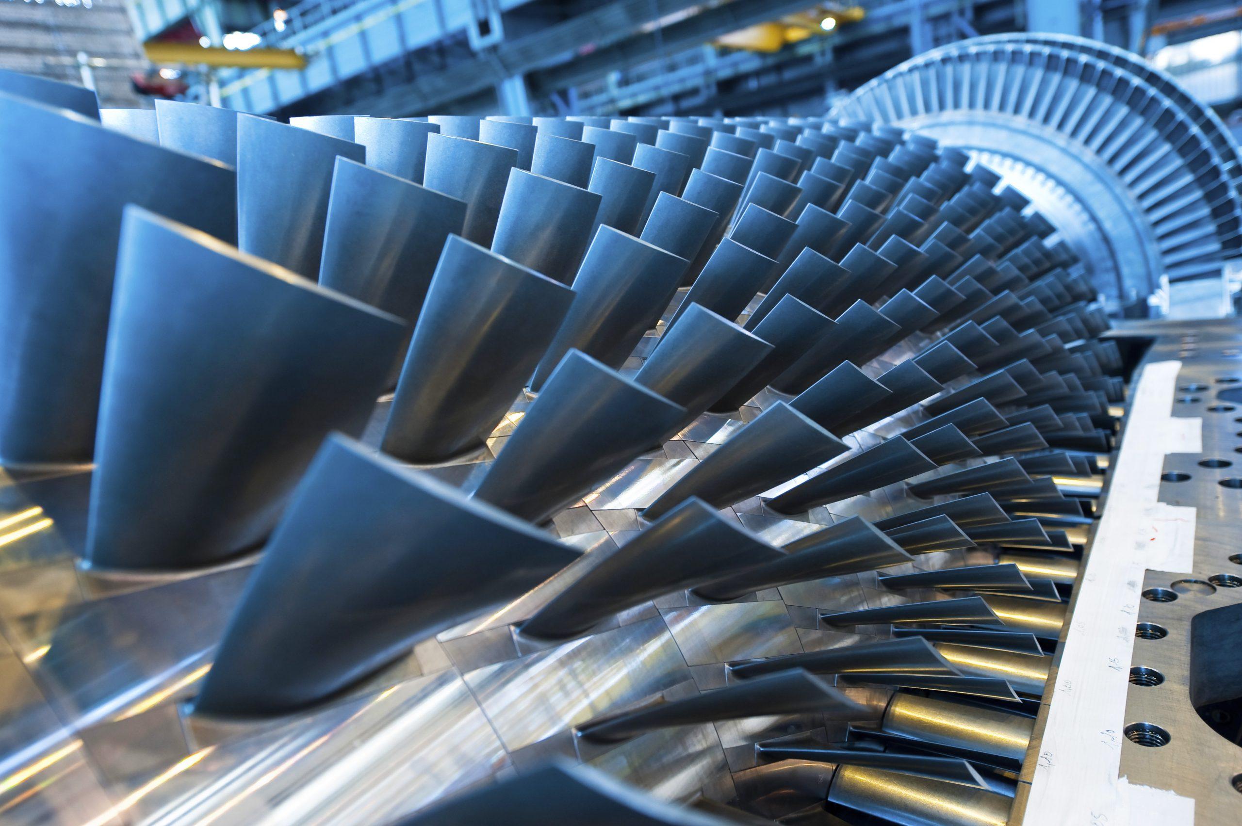 PSP31031-088, 6B Gas Turbine, 6B Rotor- compressor section, Belfort, France, Europe, DI-2800x4200